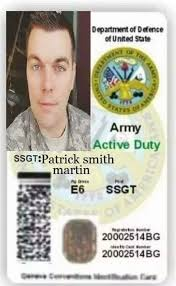 Facebook - Military Id Cards Created Fake Romance Scams By