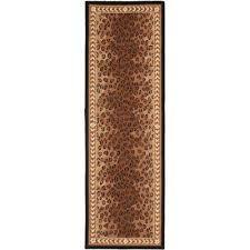 chelsea black brown 3 ft x 18 ft runner rug