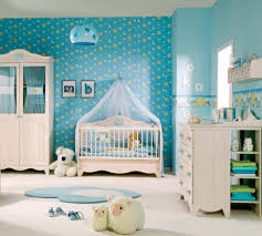 captivating blue wall decor or hanging light on stunning baby room ideas also white cabinets and floating shelf captivating awesome bedroom ideas