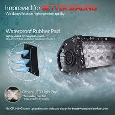 Waterproof Led Light Bar For Atv Mictuning 32 Inch 180w Combo Led Light Bar 13200 Lumen