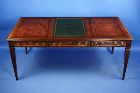 antique writing table desk style gany with plans 4