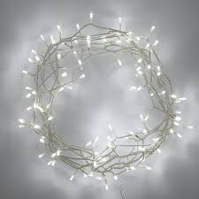 Indoor Fairy Lights with 100 White LEDs on 8m of Clear Cable by Lights4fun:  Amazon.co.uk: Kitchen & Home