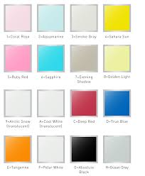 Efco Anodized Color Chart Pngline