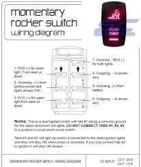 winch rocker switch red scootercrew scootercrew com utv parts Leviton Light Switch Wiring Diagram at Polaris Light Switch Wiring Diagram