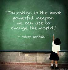 Education Quote Stunning Education Is The Most Powerful Weapon Quote Picture