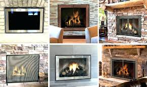 free standing glass fireplace doors freestanding fireplace screen with glass doors