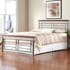 ... Full size of Queen Size Metal Bed Headboard And Footboard In Black  Finish Home Life Sanford ...
