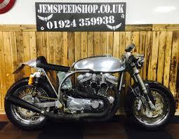 used harley davidson sportster 1200 cafe racer for sale in batley