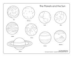 solar system diagram   learn the planets in our solar systemplanets in our solar system