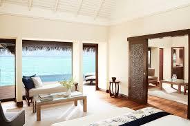 On Suite Bedroom Lavishly Appointed One Bedroom Ocean Suite In Maldives At Taj Exotica