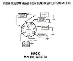 types of switches used in marine electrical systems ignition diagram c shows the switch an accessory position used in many mercury applications this switch is used anywhere multiple on off functions are