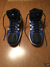 adidas 004001. men\u0027s adidas high top shoes 11.5 torsion system leather basketball 004001