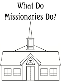 Small Picture Missionary Coloring Page Lds Kids For Primary Pages creativemoveme
