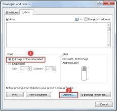 Print Address Labels How To Use Word To Create Different Address Labels In One