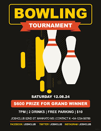 16 Bowling Flyer Templates Psd Ai Indesign Free Premium