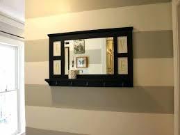 entryway wall mirrors charming entryway mirror with hooks wall mounted entryway mirror with drawers and hooks entryway wall mirrors