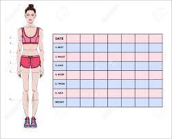 Weight Loss Body Measurement Chart Www Bedowntowndaytona Com