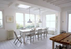 Rustic White Kitchen Table White Wash Dining Room Table Grstechus