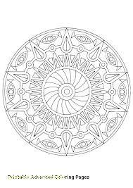 Free Printable Advanced Mandala Coloring Pages Advanced Mandala