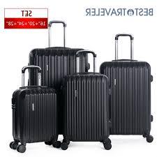 Light Luggage Sets 4 Piece Abs Luggage Set Light Travel Case