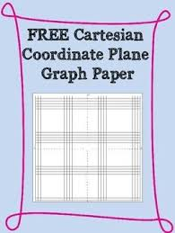 Free Cartesian Coordinate Plane Graph Paper Templates Personal Use