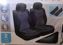 seat covers plus 2 seat belt pads wtr