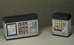 Papercraft Vending Machine Gorgeous TMP] Soda Vending Machines For 48mm Topic