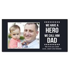 patriotic gifts our hero personalized wall panel