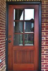 wood front doorsCraftsman Doors  Exterior Wood Front Entry Doors