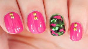 Camouflage Nail Art Pink The Home Design : Fancy Camo Nail Designs ...
