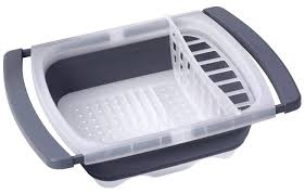 collapsible over the sink dish drying folding rack drainer dishes dry storage 1 of 2only 2 available see more