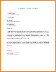 proper letter format 5
