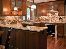 backsplash tile ideas for kitchen. Kitchen Backsplash Ideas On A Budget Wall Mounted White Shelves The Orange Tile Brick Background Trendy Blue Marble Stone Tan For O