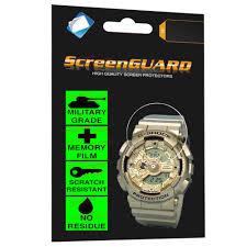 <b>Military Grade Anti Shock</b> Film for Casio Watch G Shock Analogue ...