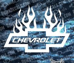 flaming chevy emblem. Fine Flaming Chevy Bowtie With Flames Decal With Flaming Emblem O