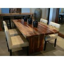 Mesmerizing Adorable Real Wood Dining Table With Room Sets Of - All wood  dining room table