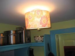 judy s painted pantry with ceiling drum shades