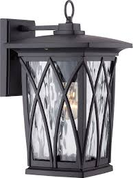 quoizel gvr8408k grover traditional mystic black outdoor wall light fixture loading zoom