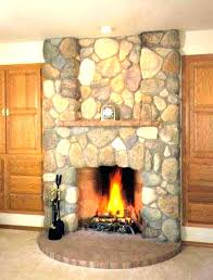 lava rock fireplace gas rocks gallery with natural makeover