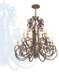classic and gothic wrought iron chandeliers superhomeplan view 16 of 45