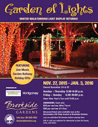advertiser of the week garden of lights at brookside gardens in wheaton md