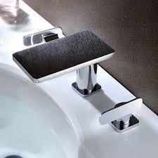Sanlingo Badezimmer Bad 3loch Waschbecken Badewanne Armatur Chrom