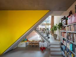 Yellow Office Beta Office For Architecture The City