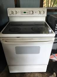 outstanding white ge glass top stove appliances in dover fl offerup for ge flat top stove attractive