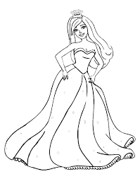 Barbie Coloring Pages Game Samsungcctvinfo