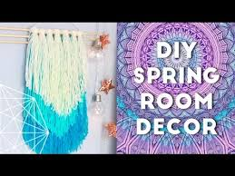 diy spring room decor ideas and