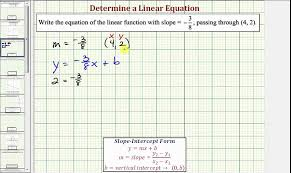 writing equations of lines beginning