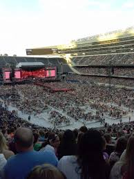 One Direction Chicago Seating Chart Soldier Field Section 326 Row 6 Seat 1 One Direction Tour