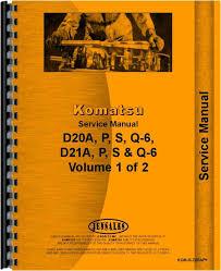 komatsu d21p 6a crawler service manual komatsu d21p 6a crawler service manual htko msd20ap
