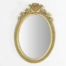 antique oval mirror frame. Gilt Wood Oval Mirror Antique Frame O